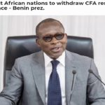 W. Africa Nations To Withdraw CFA Reserves From France