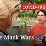 CoronaVirus Globe: Face Mask Fighters As Cases Spike