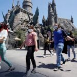 Americas: Universal Studio Hollywood Reopens After Covid One Year…